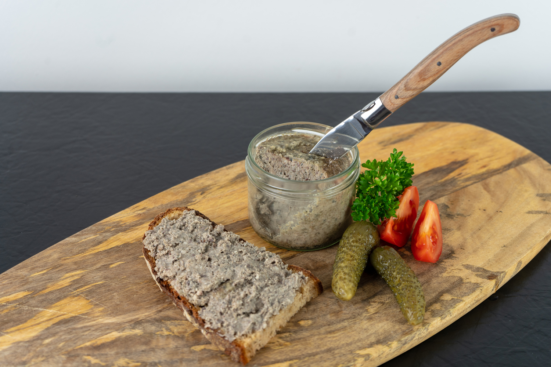 Bio-Leberwurst im Glas